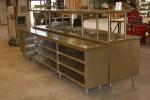 Counter with Overshelf