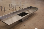 One Comp Sink - No Legs