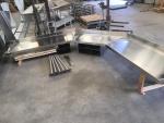 Custom Work Table - No Legs - Hung